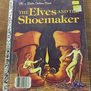 Vintage Little Golden Book The Elves the Shoemaker